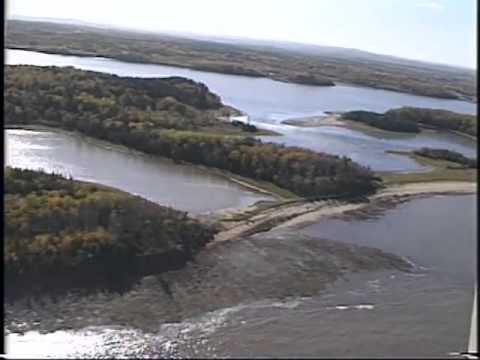 Aerial Survey, Part 4  Durham on  West  River of  Pictou  Harbour to  Gull  Point,  Caribou  Island,