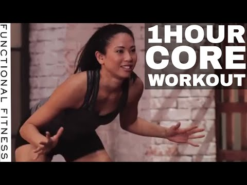 1 Hour Core Workout Routine With Rebecca Kennedy - Functional Fitness