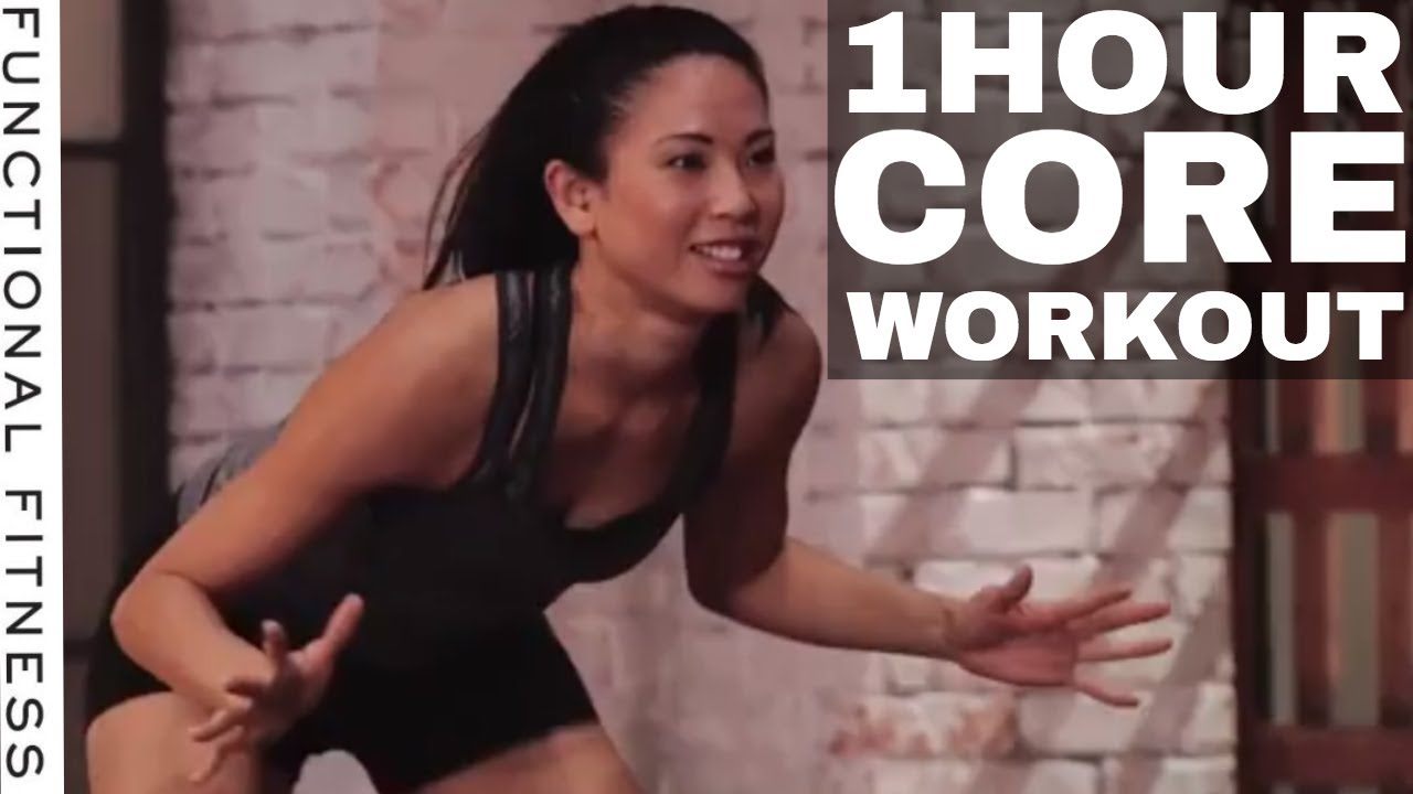 1 Hour Core Workout Routine with Rebecca Kennedy – Functional Fitness