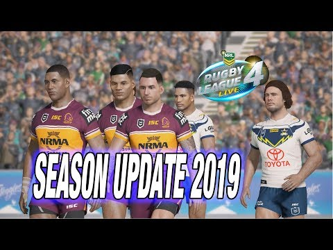 Rugby League Live 4 2019 Update !!!!