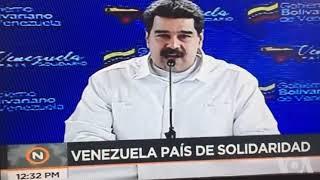Maduro responde a nuevas sanciones de EE.UU.