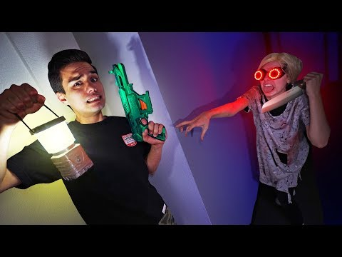 NERF Don't Get Caught by Granny Challenge!