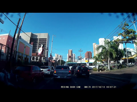 Driving in Fortaleza/Ceará/Brazil - Route 1 (2017-10-13)