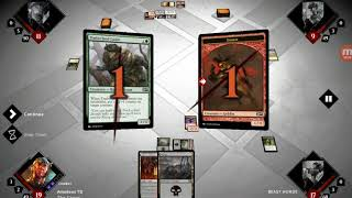 Magic 2015 practice duel gameplay