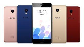Meizu M5C unbox и первое впечатление
