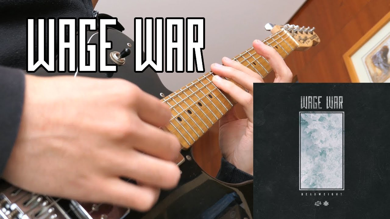 WAGE WAR - Don't Let Me Fade Away (Cover) + TAB
