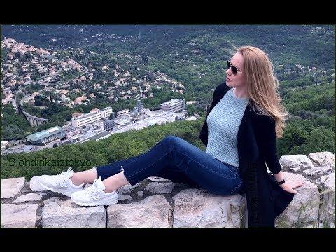 Парфюмерный Vlog  и прогулка  *  France Provence * Франция Грасс & Гурдон