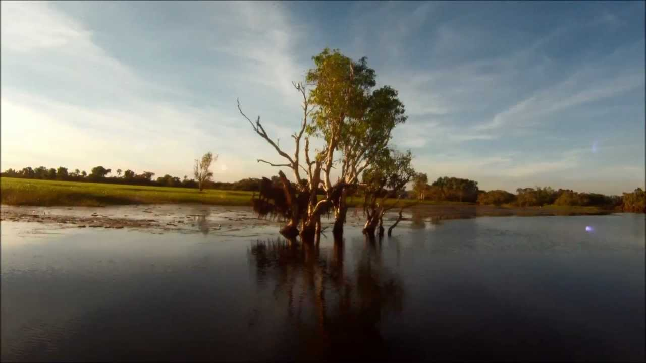 Sunset - Yellow Waters - Kakadu NT - Out in Oz