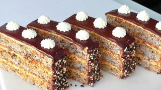 Торт Пирожное с шоколадом в бисквите и крутым кремом Успешный кондитер