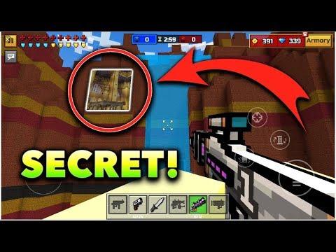 Secret hiding spots in pixel gun 3D