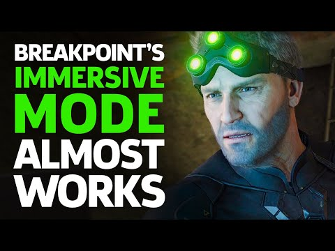 Breakpoint's Immersive Mode Almost Works