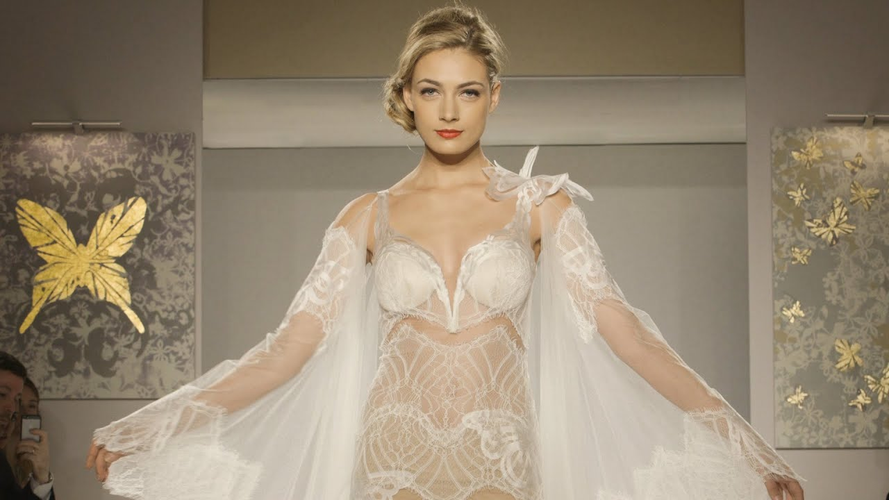 Pnina tornai official 2015 couture bridal collection for for Kleinfeld wedding dress designers