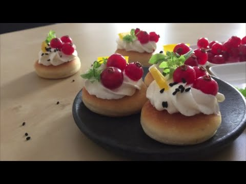Cranberry canapes tutorial youtube for Canape tutorial