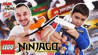 Папа Роб и Ярик СПИННЕР челлендж LEGO NINJAGO