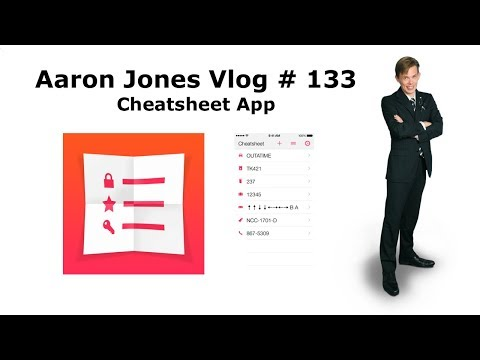 Cheatsheet App : Aaron Jones Vlog #133
