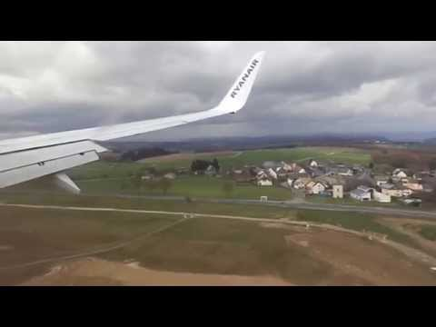 Very Hard Landing Ryanair Boeing 737-800 OPO-HHN