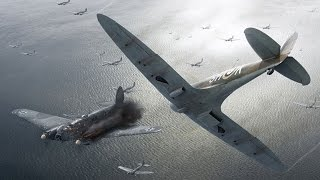 "Aviation Scenes - Battle of Britain ""Duck hunting"""