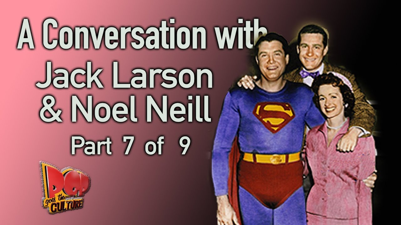 Jack Larson and Noel Neill talk about the death of George Reeves (Superman) Part 7 of 9
