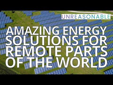 Amazing Energy Solutions for Remote Parts of The World | Jonathan Fievez