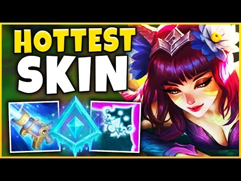 *RIOT WENT TOO FAR* THE HOTTEST SKIN EVER MADE (NEW AHRI SKIN) - League of Legends