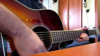 how to play Asaf Avidan - Her Lies acoustic (HD)