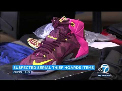 'Hoarder' burglar kept $200K of property in storage, police say   ABC7