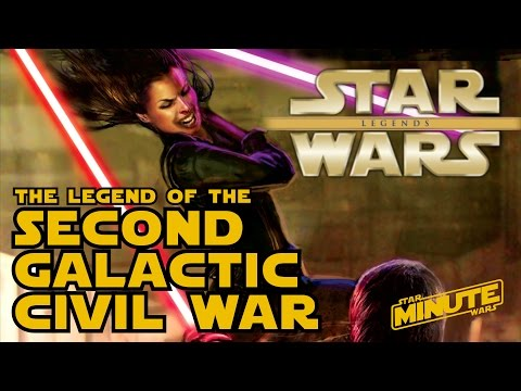 The Second Galactic Civil War Explained Legends  Star Wars Minute