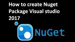 Wie erstellen Sie Nuget-Paket in Visual studio 2017