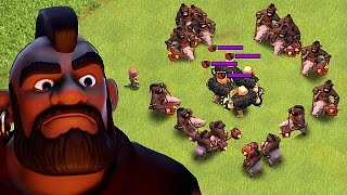 WE'VE GOT YOU SURROUNDED!!!😀NEW HOG EVENT!!🔸Clash Of Clans