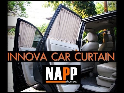 TOYOTA INNOVA NAPP CAR CURTAIN