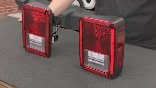 Jeep Wrangler JK Taillight Assembly OE-Style Pair 2007-2018