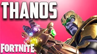 MANOPLA DO INFINITO - THANOS IMBATÍVEL!! - Fortnite Battle Royale
