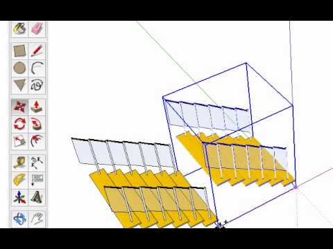 Sketchup basic mirror tool youtube for Mirror in sketchup