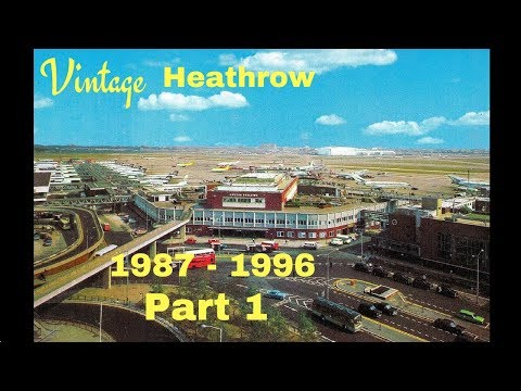 A Day at the Queens Building - Heathrow Airport 1987 - 1996)  Part 1