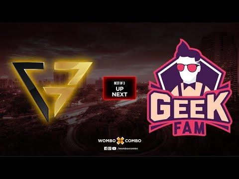 Geek Fam vs Clutch Gamers Game 2 | MDL Changsha Major SEA Qualifiers | BO3