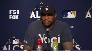 CC Sabathia on being down 2-0 in the ALCS and Game 3 start