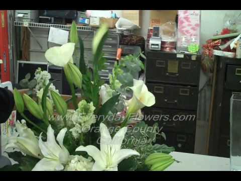 Making Flower Arrangements Everyday Flowers