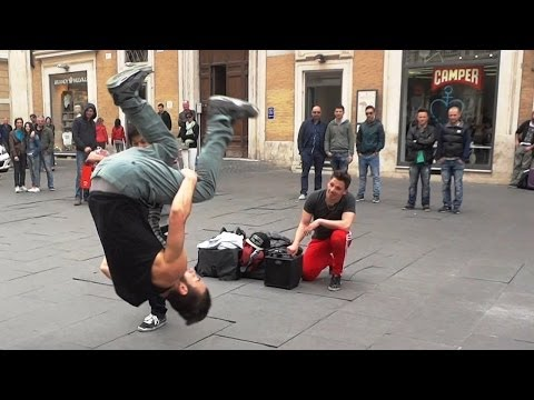 Hip Hop Street Dance - Acrobatic Music Dancers