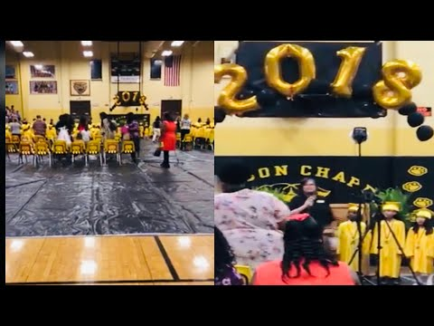 My son's assembly party at Watson Chapel High School of 2018