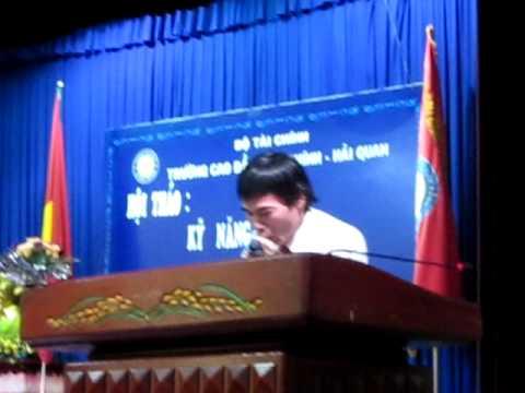 Hội thảo Kỹ Năng Mềm trong học đường, Tiến sỹ Lê Thẩm