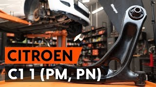 Watch the video guide on CITROËN C1 (PM_, PN_) Multi v belt replacement