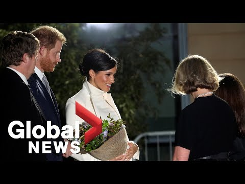 Meghan Markle and Prince Harry visit Natural History Museum for gala