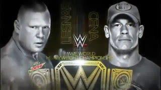 John Cena vs Brock Lesnar Night Of Champions 2014