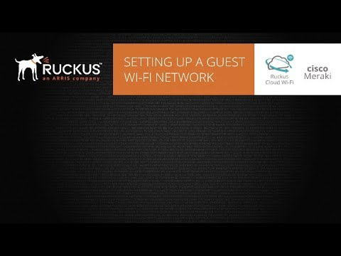Guest network showdown: Which is simpler to set up, Ruckus or Meraki?