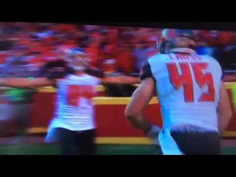 Alan Cross scores 1st NFL TD !