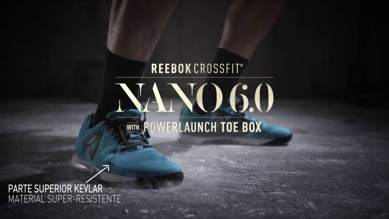077059f71aa Tênis Reebok Crossfit Nano 6.0 nas Lojas Centauro - YouTube