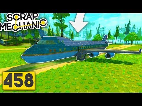 Download Youtube: Scrap Mechanic | Casa din Avion | Episodul 458