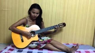 quynh scarlett - Vết thương cuối cùng (tự chơi guitar)