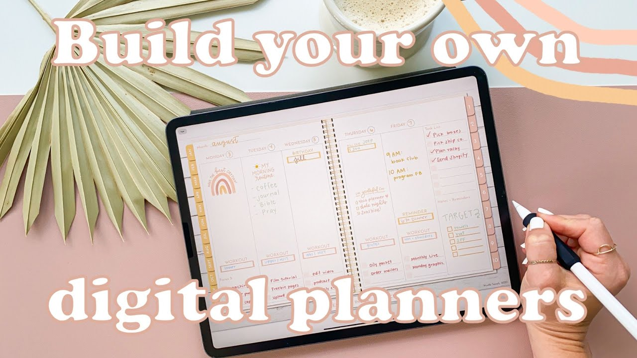 How to Use and Customize a Digital Planner on an iPad | Hustle Sanely