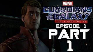 guardians of the galaxy telltale part 1   id chip   jet boots   time scanner ps4 pro gameplay
